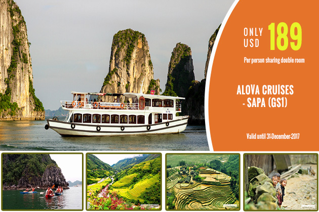 ALOVA CRUISE DAY TOUR & SAPA TOUR TOGETHER TO GET THE BIG OFFER